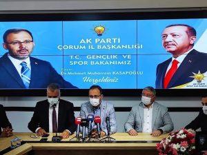 """""""SUNGURLU'YA YARI OLİMPİK YÜZME HAVUZU VE GÜREŞ KAMPI KAZANDIRACAĞIZ"""" »"""
