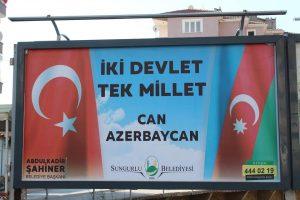 sungurlu belediye azerbaycan bayrak astı sungurlu tv haber (2)
