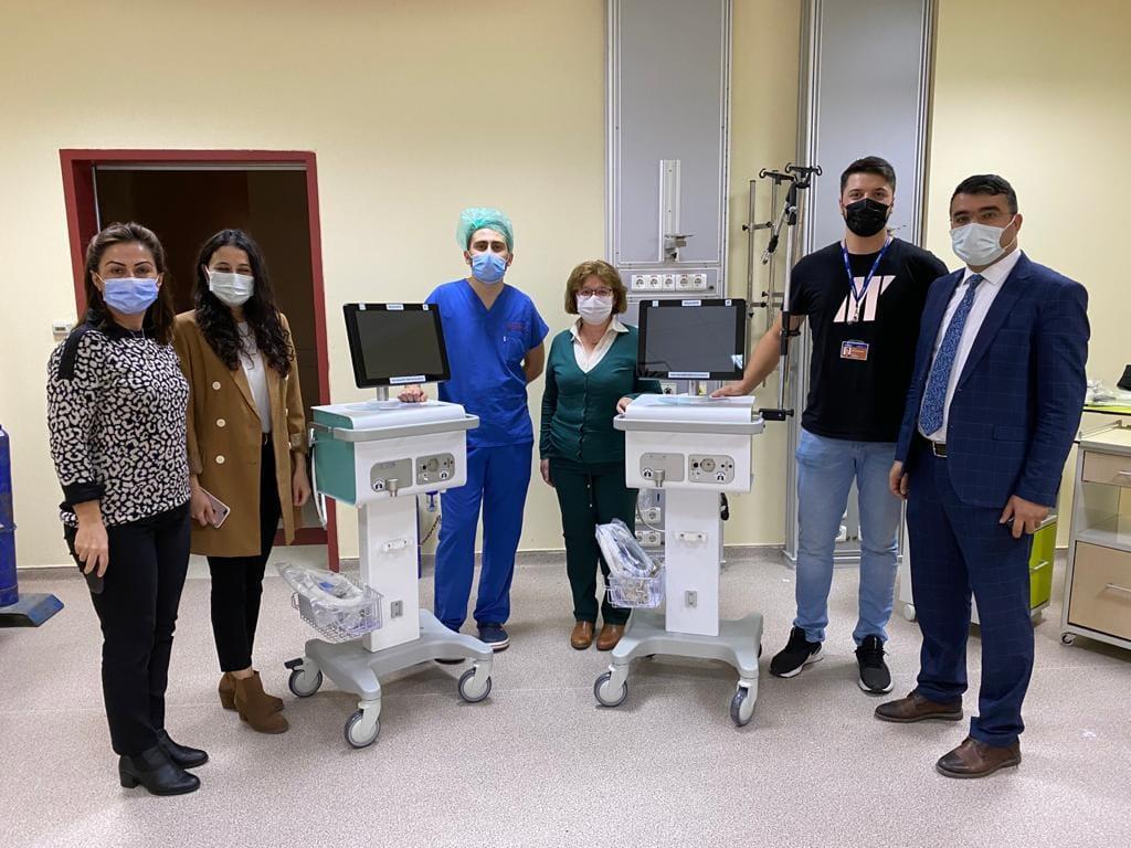 sungurlu devlet hastanesi yerli milli solunum cihazı aselsan