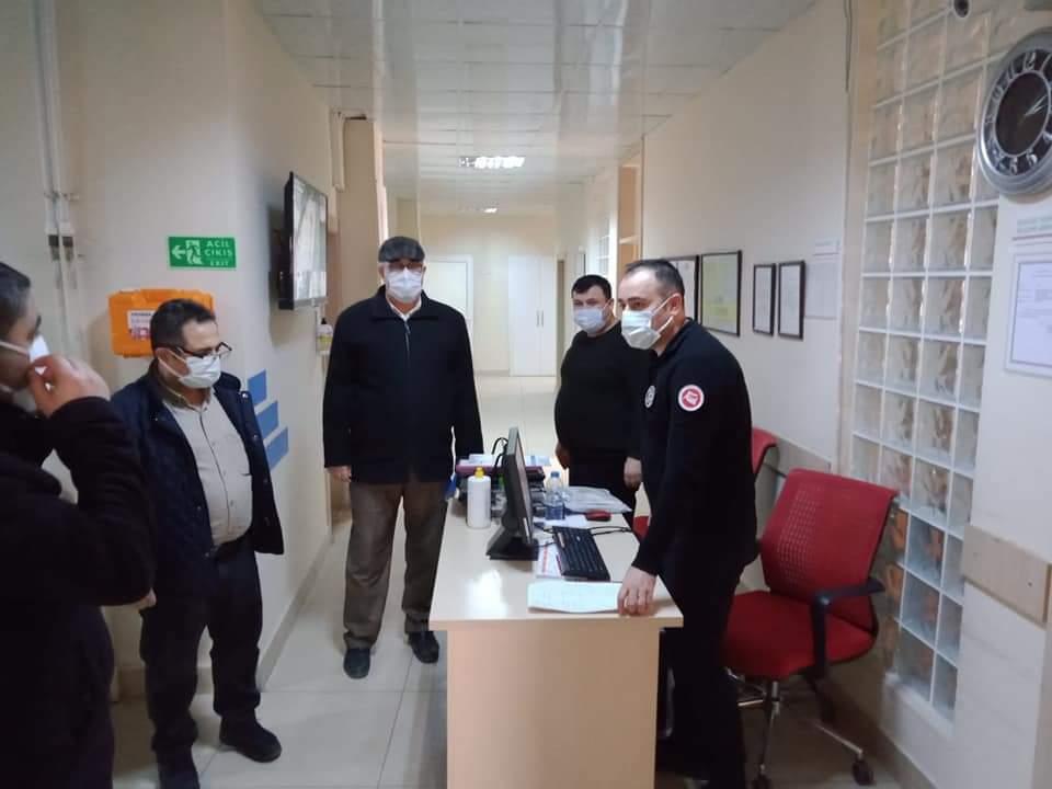 Sungurlu'da koronavirüs ile mücadele kapsamında denetimler aralıksız sürüyor. | Sungurlu Haber