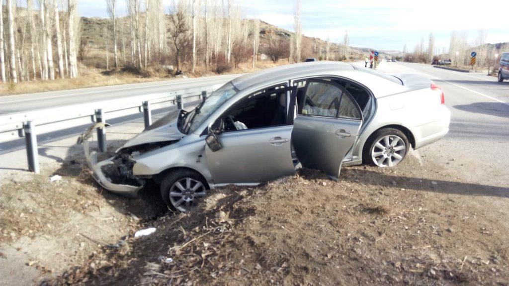 Sungurlu'da meydana gelen trafik kazasında 2 kişi yaralandı | Sungurlu Haber
