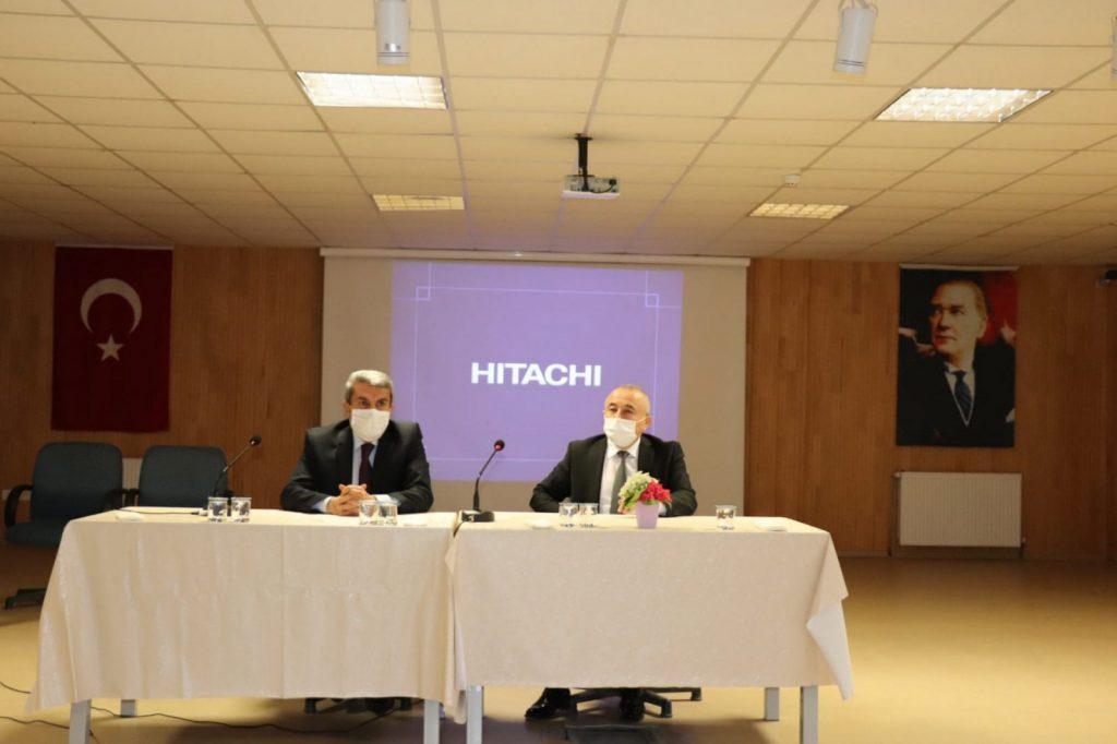 Çorum İl Milli Eğitim Müdürü Yakup Sarı, Sungurlu İlçe Milli Eğitim personelini ve Müdür Yardımcıları ile değerlendirme toplantısı yaptı. | Sungurlu Haber