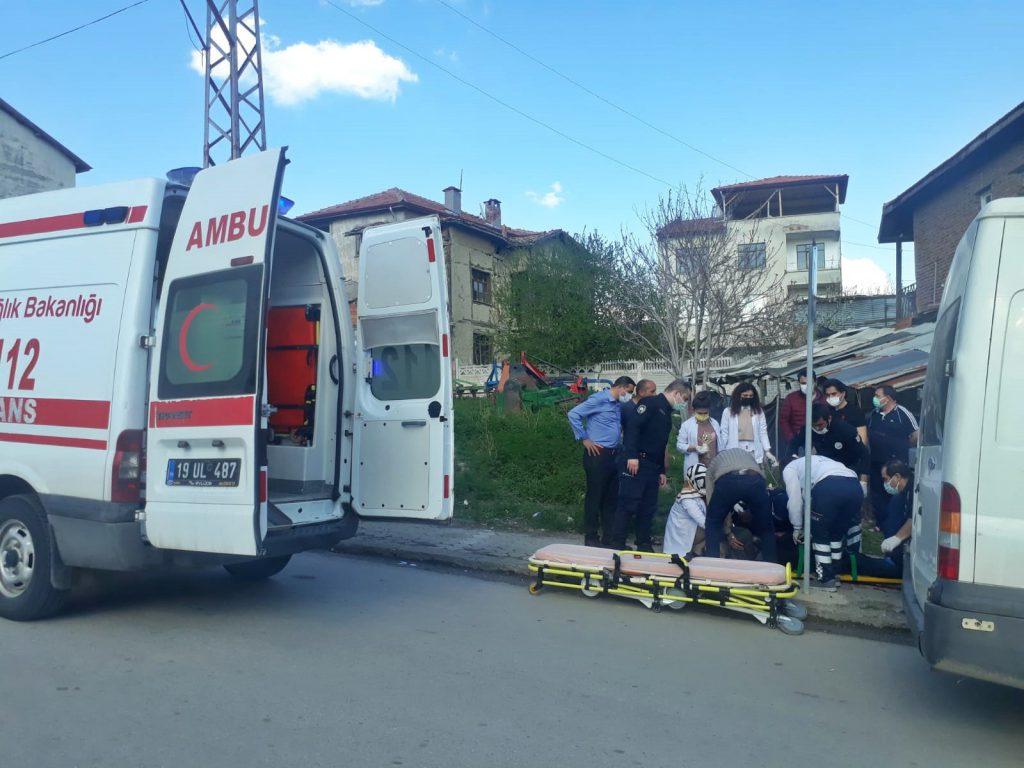 Sungurlu'da çıkan silahlı kavgada tesadüfen orada olan gıda toptancısı omzundan vurularak ağır yaralandı.  | Sungurlu Haber