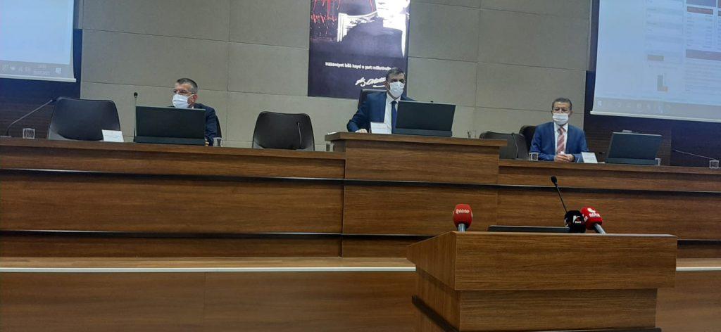 2021 yılı Koordinasyon Kurulu'nun 3. toplantısı Vali Mustafa Çiftçi Başkanlığı'nda toplandı. Toplantıda Sungurlu Belediye Başkanı Abdulkadir Şahiner, Sungurlu'nun bir türlü çözüme kavuşturulmayan sorunlarını dile getirdi. | Sungurlu Haber