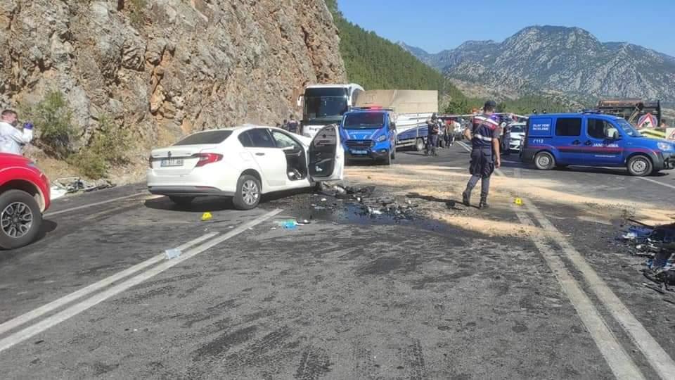 Polis memuru hemşehrimiz ve oğlu, geçirdikleri trafik kazası sonucunda hayatlarını kaybettiler.   Sungurlu Haber