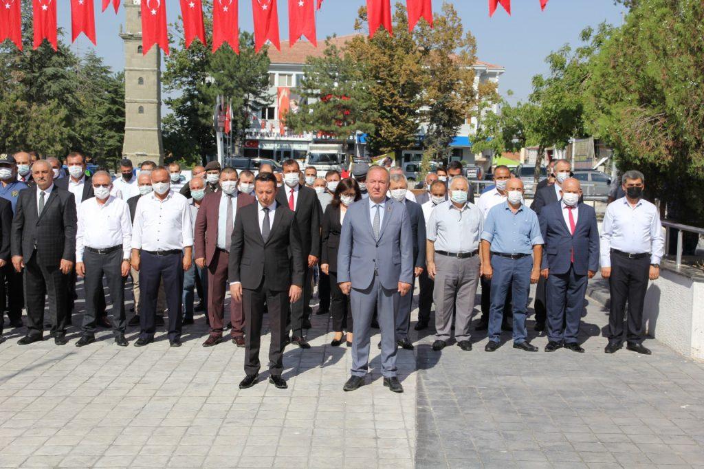30 Ağustos Zafer Bayramı nedeniyle Sungurlu'da tören düzenlendi.   Sungurlu Haber